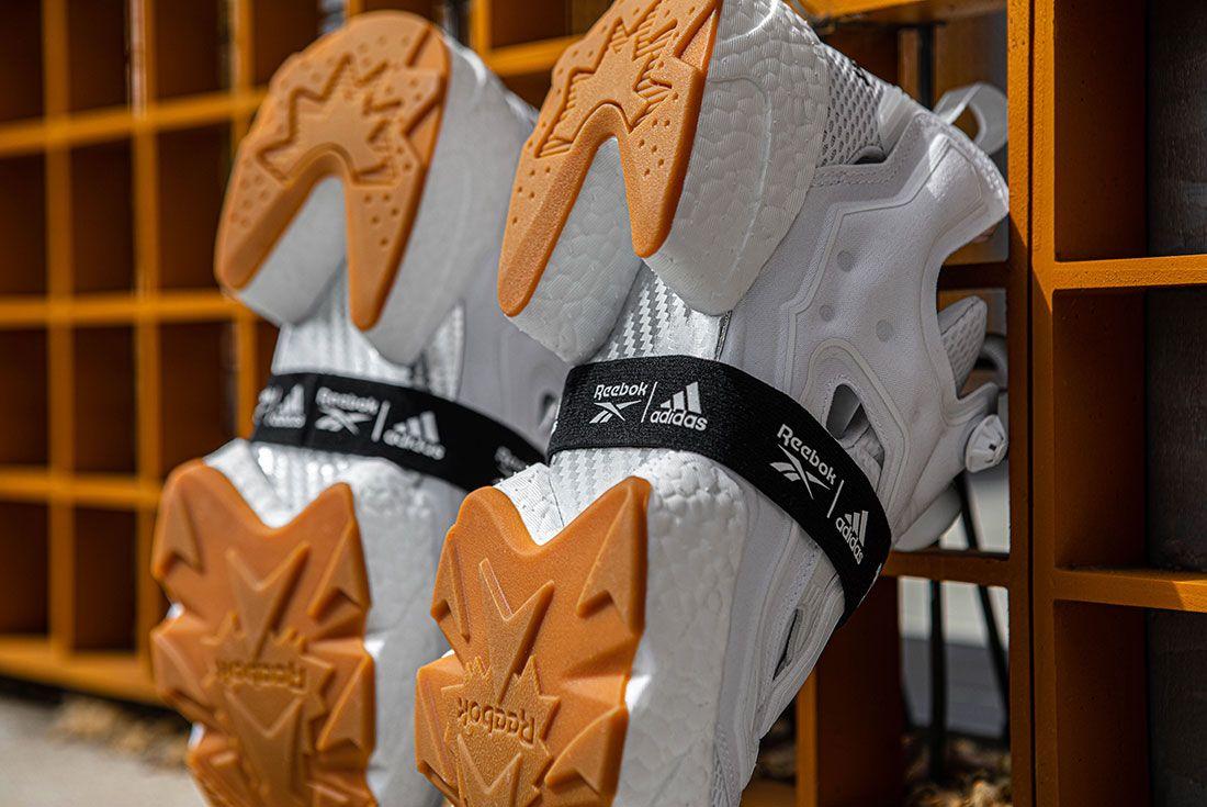 Reebok Adidas Instapump Fury Boost Black And White Pack Exclusive Sneaker Freaker Shot8