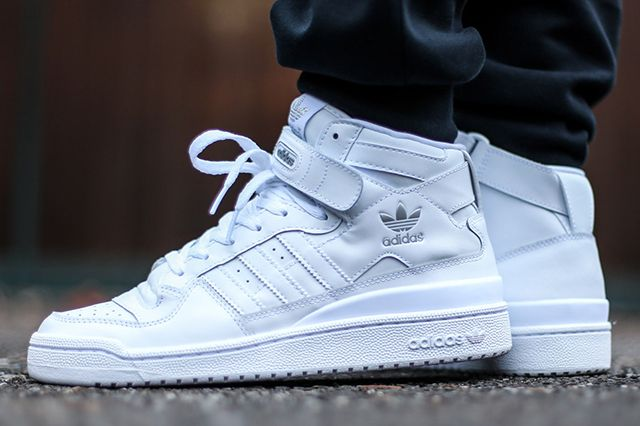Adidas Forum Mid Triple White 4