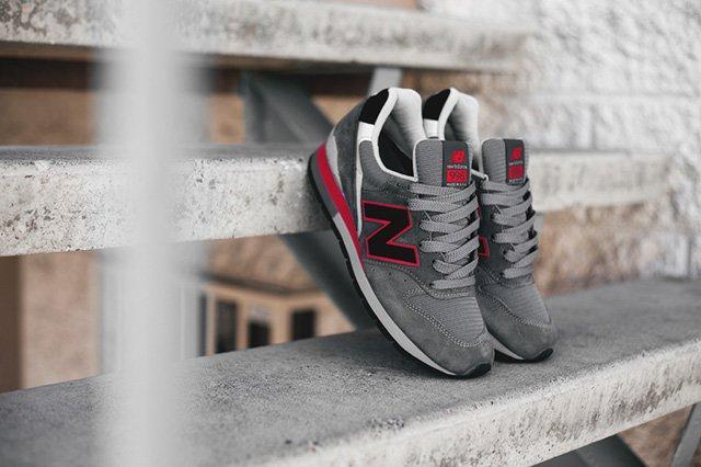 New Balance 996 Grey Red