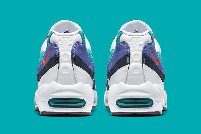 Nike Air Max 95 White Flash Crimson Hyper Jade 4