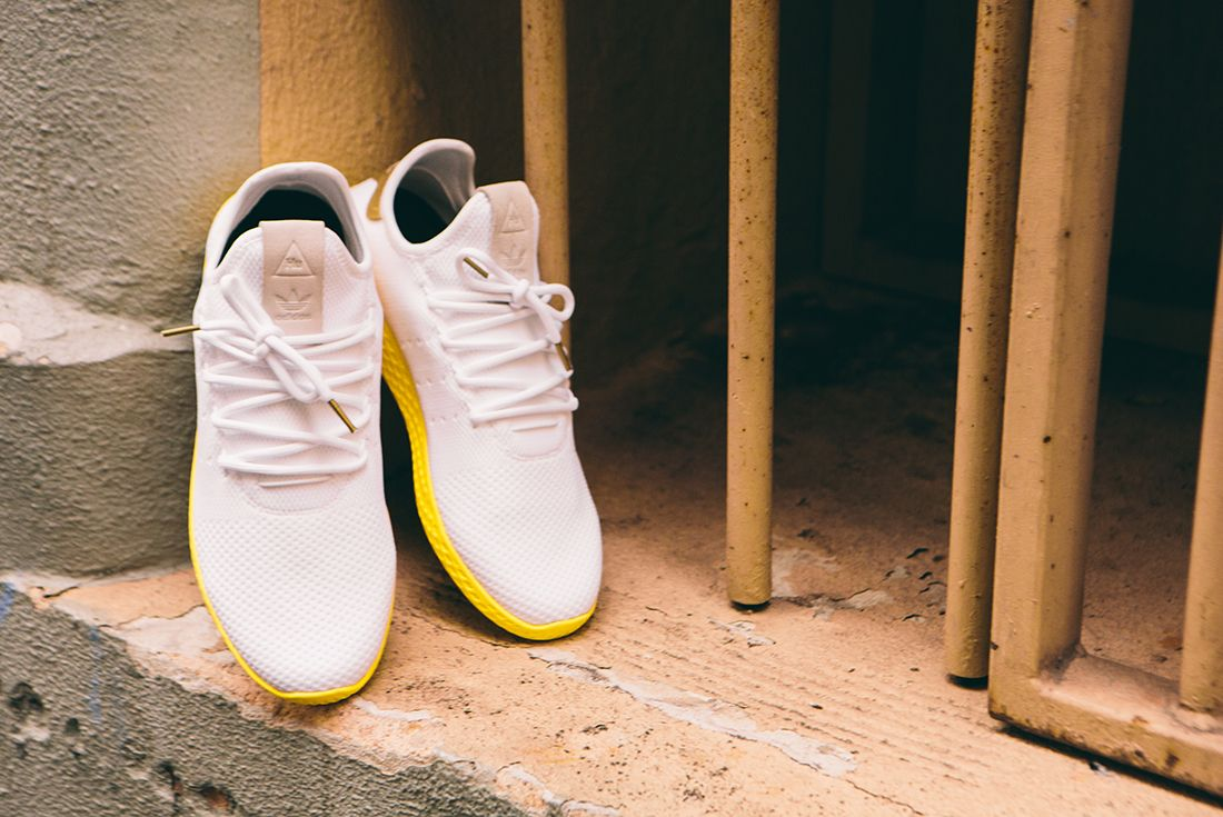 Pharrell Williams X Adidas Tennis Hu Gold8
