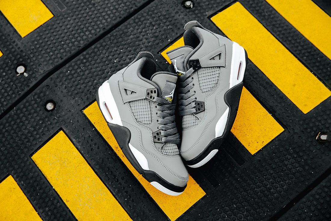 Air Jordan 4 Cool Grey Pair1
