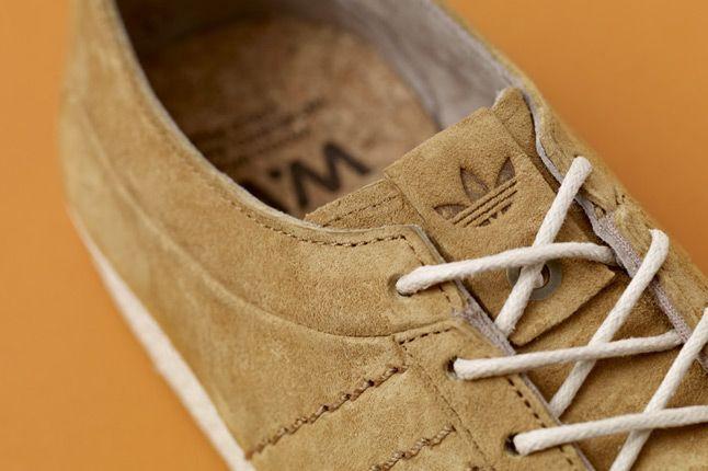 Adidas Consortium Gazelle Vintage Woodwood Tongue 1
