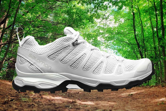 Salomon Ultra Adv White Lateral