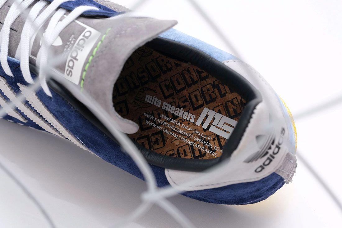 RECOUTURE x mita sneakers x adidas Campus 80s