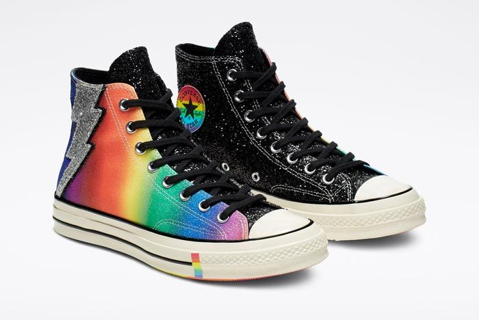 Chuck 70 Pride High Top Black Pair