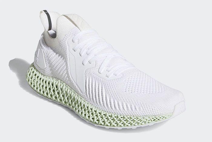 Adidas Alphaedge 4 D White Quarter