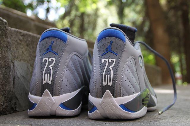 Air Jordan 14 Sport Blue 3