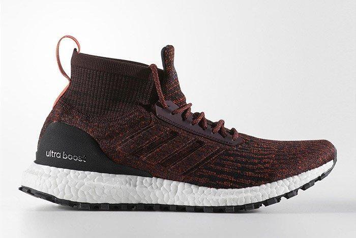 Adidas Ultra Boost Mid Atr Burgundy 5
