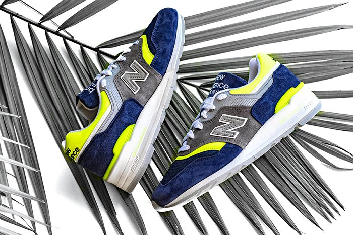 New Balance 997 Blue Yellow M997Lbl Release Date Pair