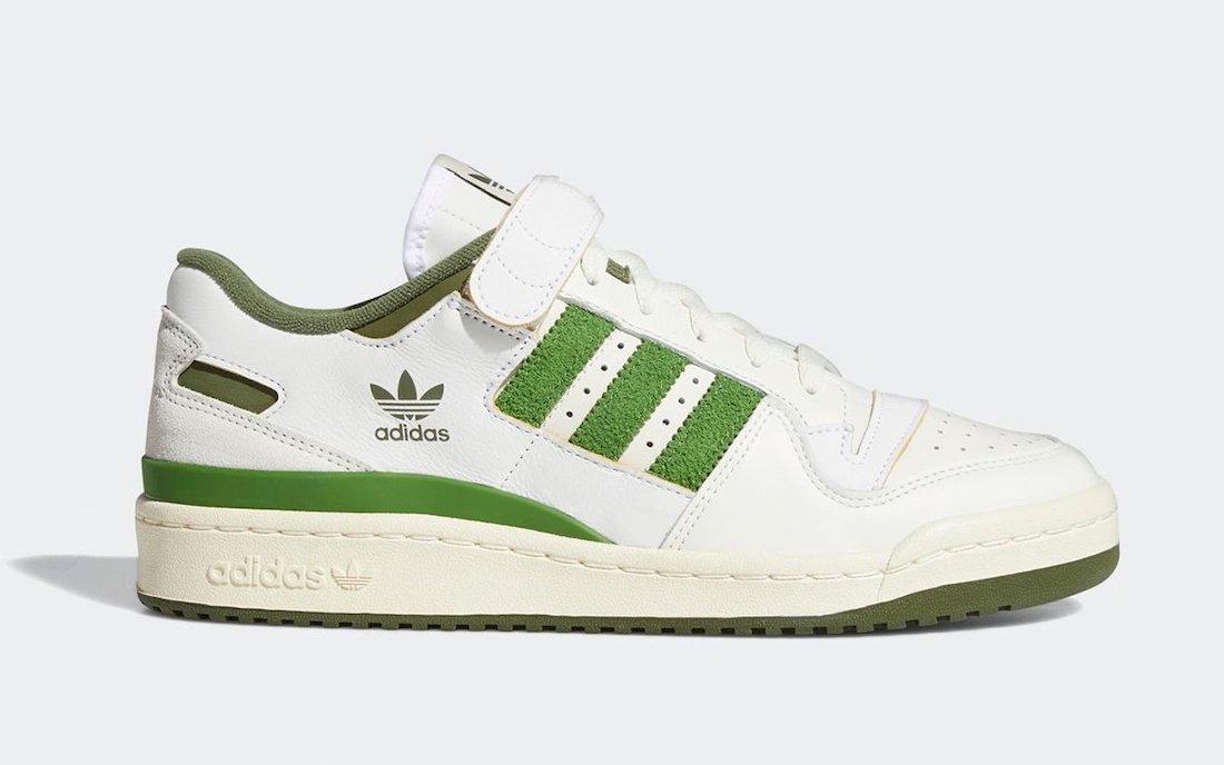 adidas Forum Low Crew Green