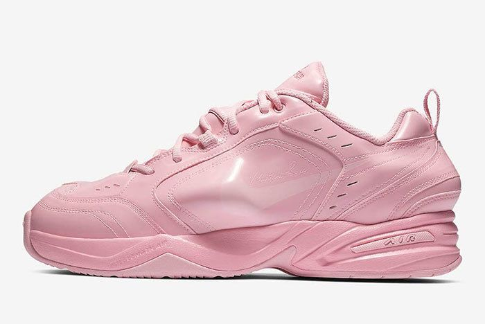 Nike Air Monarch 4 Martine Rose Pink At3147 600 Release Date 1