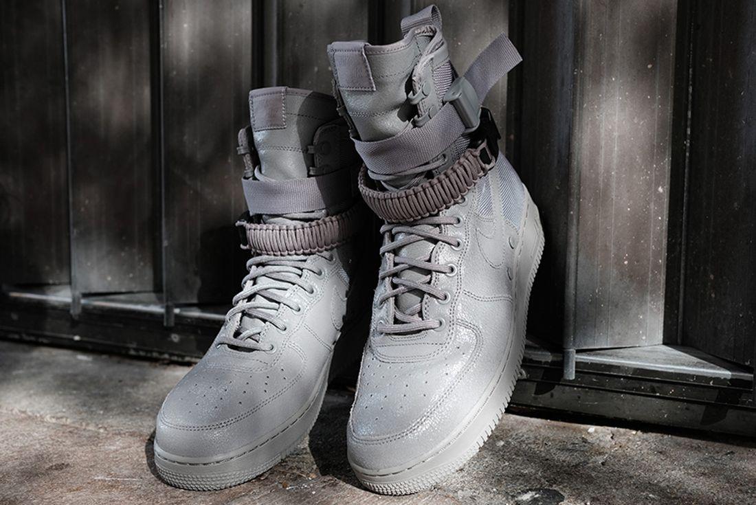 Nike Sf Air Force 1 Grey 3