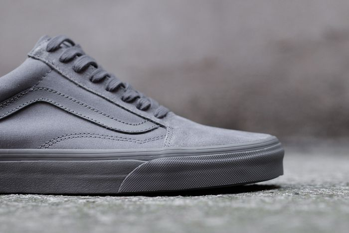 Vans Old Skool Mono Tornado Grey3