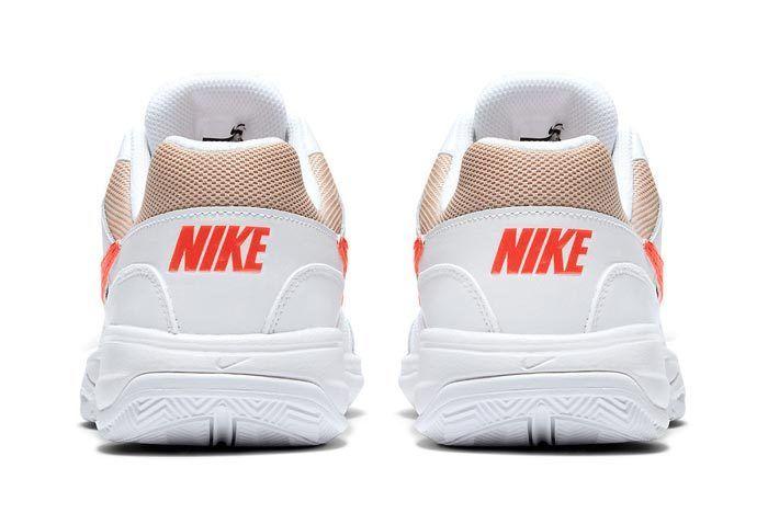 Nikecourt Court Lite Orange And Tan 3