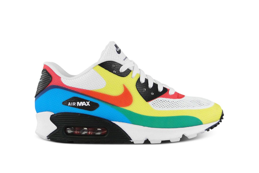 Material Matters High Frequency Welding Nike Air Max 90 Olympic Hyperfuse
