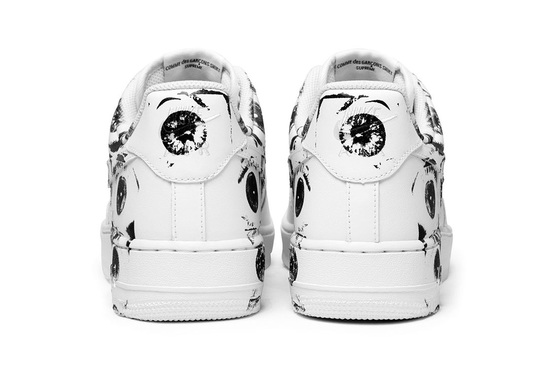Supreme X Comme Des Garçons Shirt X Nike Air Force 13
