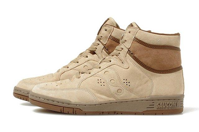 White Mountaineering Saucony Suede Sneakers 22