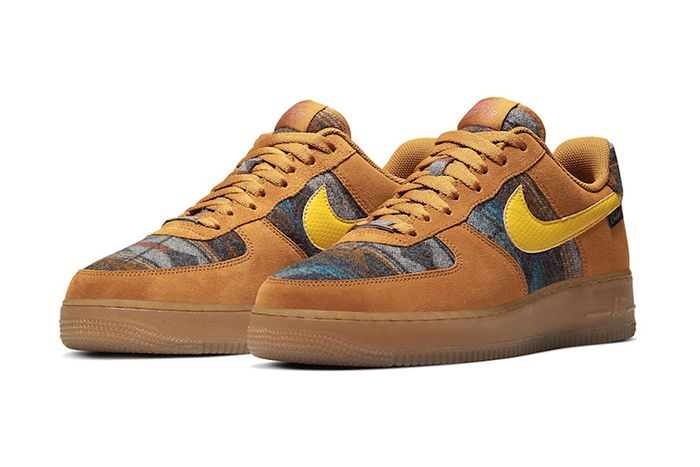 Pendleton Nike Air Force 1 Low N7 Cq7308 700 Release Date Pair