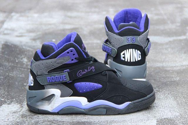 Ewing Athletics Ewing Rogue Black Purple Main