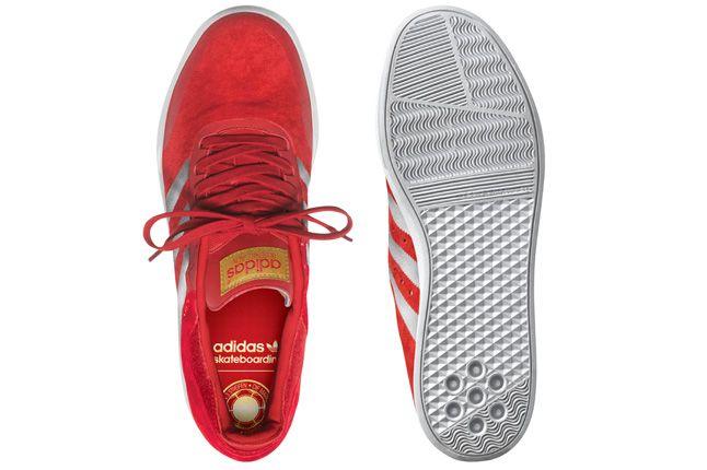 Adidas Busenitz Adv Red Pair Top 1