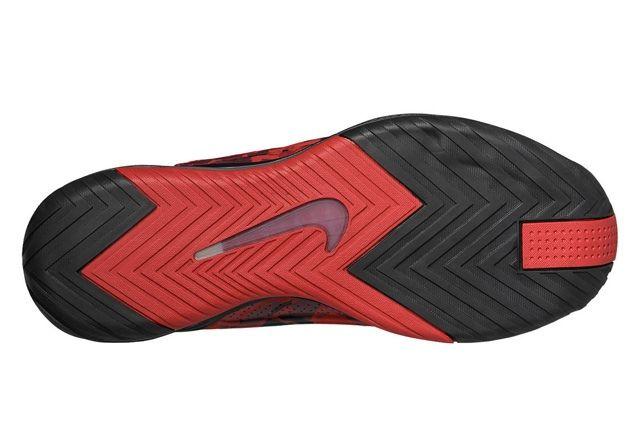 Nike Zoom Hyperflight Max Red Camo Sole
