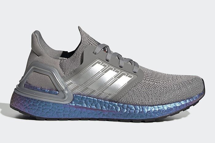 Adidas International Space Station Ultraboost Grey Right Side Shot