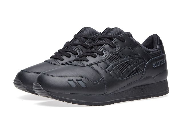 Asics Gel Lyte Iii Triple Black Bumper 4