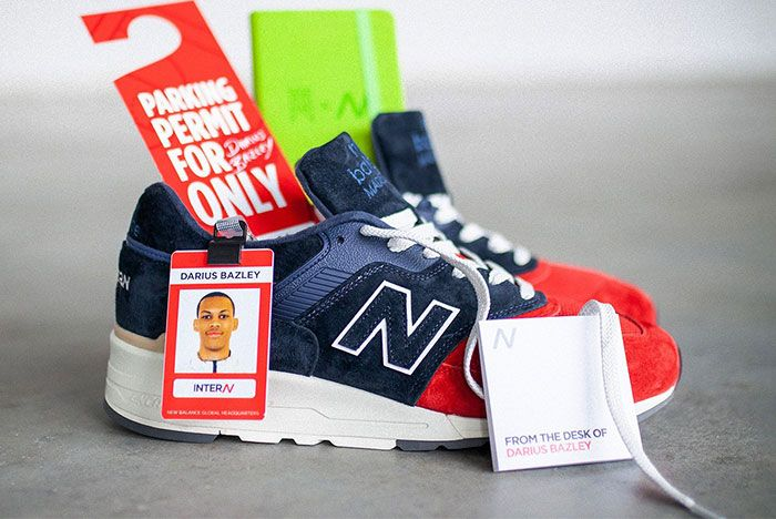 New Balance 997 The Intern Darius Bazley Closer Look 1 Side