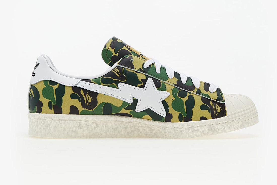 BAPE x adidas Superstar 80
