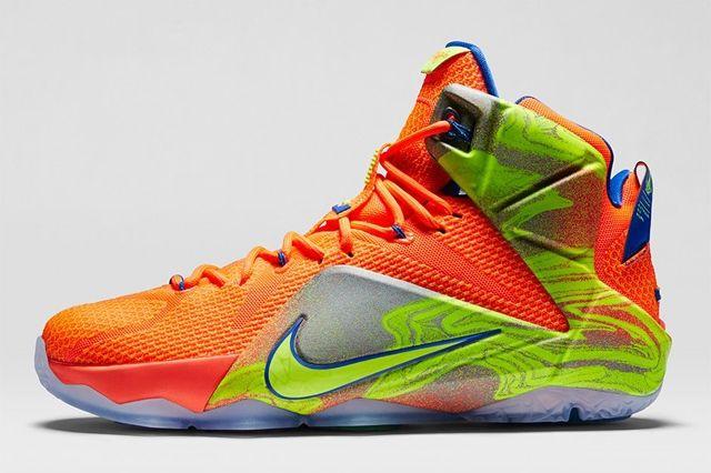 Nike Lebron 12 Six Meridians Bump 4