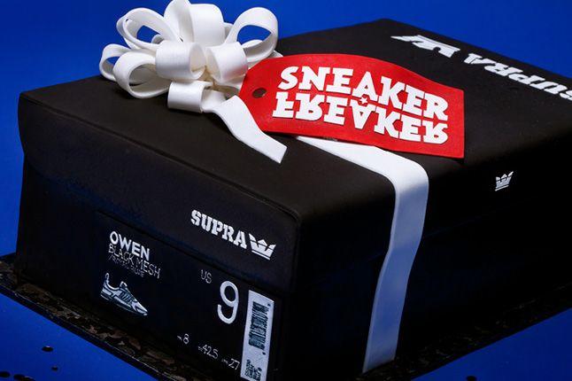 Supra Sneaker Freaker Owen Blueballs Cake 1