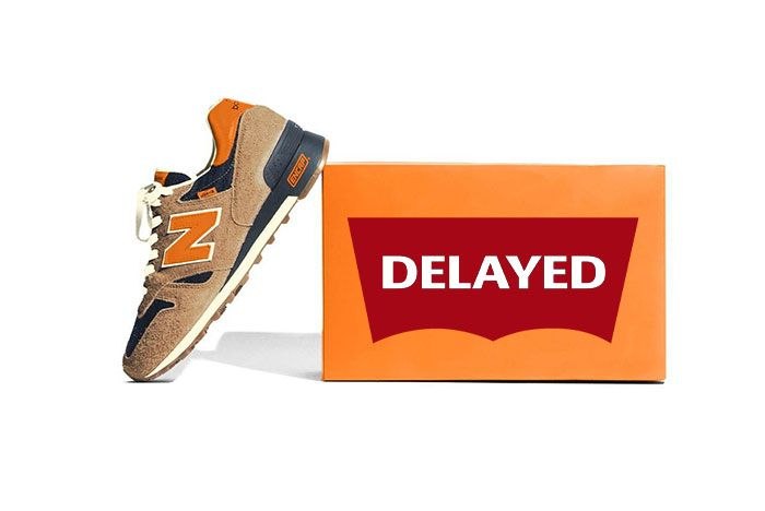 New Balance 1300 Levis Delayed