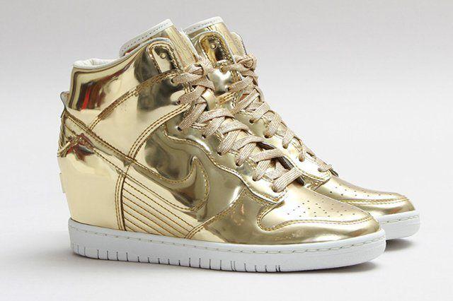 Nike Dunk Sky Hi Sp Liquid Gold