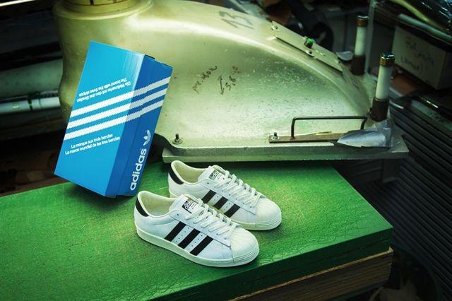 Adidas Consortium Superstar Made In France 3