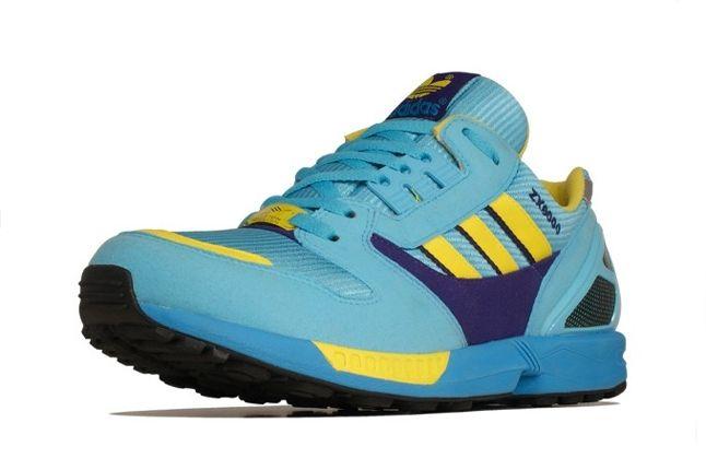 Adidas Zx 8000 Blue Yellow Toe Profile 1