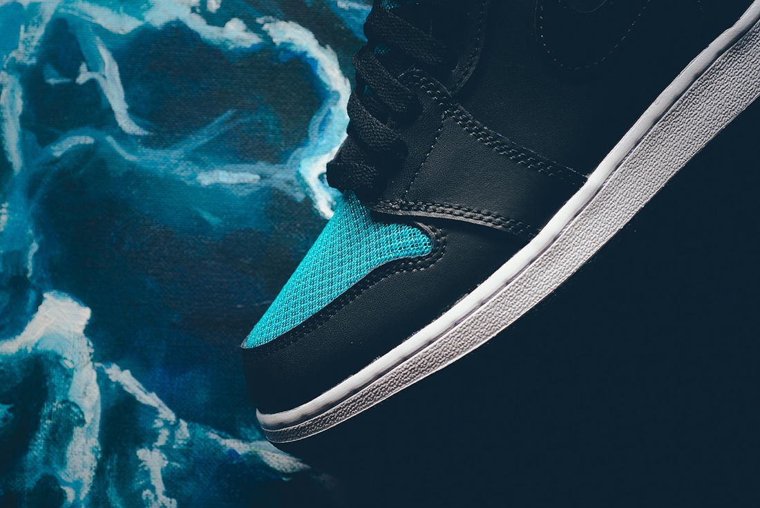 Air Jordan 1 High Gg Rio Teal5