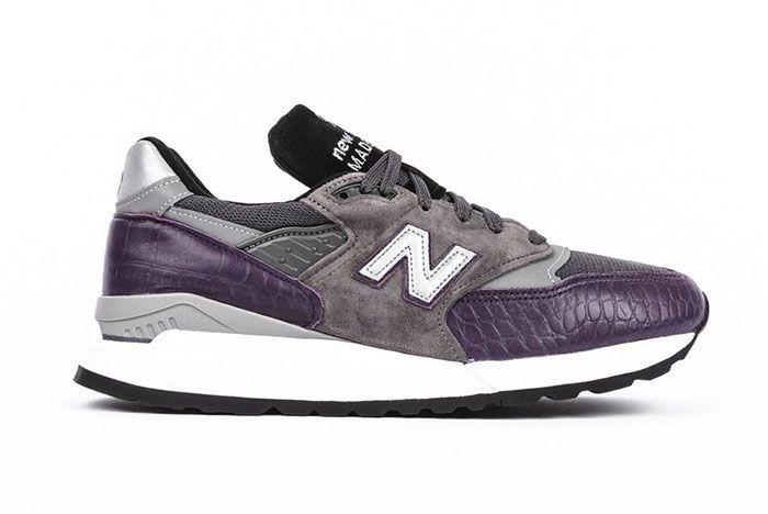 New Balance M998 Purple Faux Croc Colorway Release2 Side
