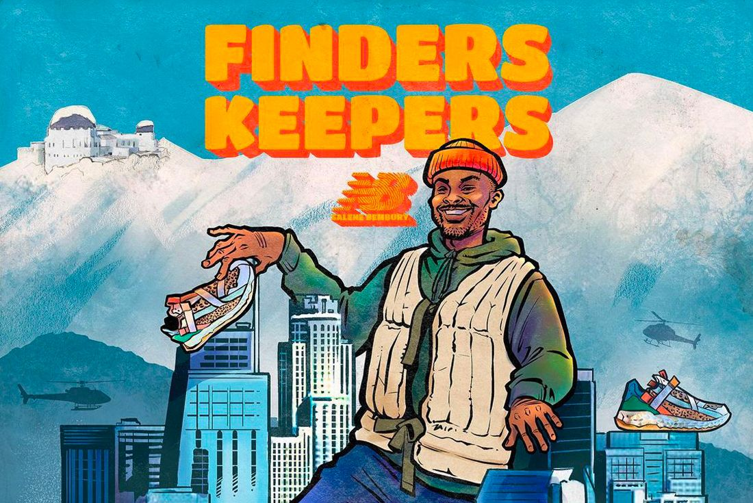 Salehe Bembury x New Balance Test Run Project 3.0 'Finders Keepers'