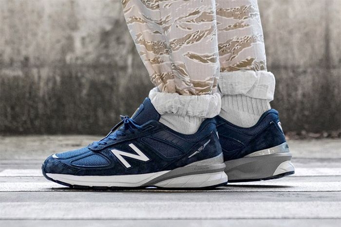 New Balance 990V5 Navy M990Nv5 Release Date Lateral Hero