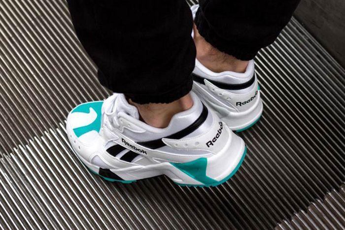 Reebok Aztrek Teal Black White 2 Sneaker Freaker