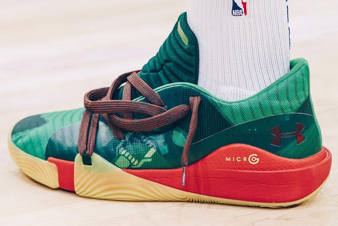 Nike Joel Embiid Under Armour Spawn