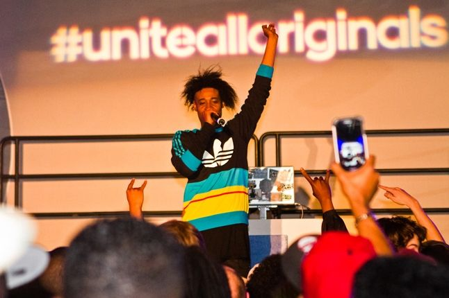 Adidas Unite All Originals Atlanta Danny Brown On Stage 1