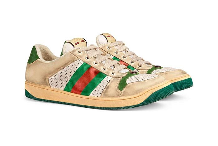 Gucci Distressed Sneakers Gg Canvas Release 9