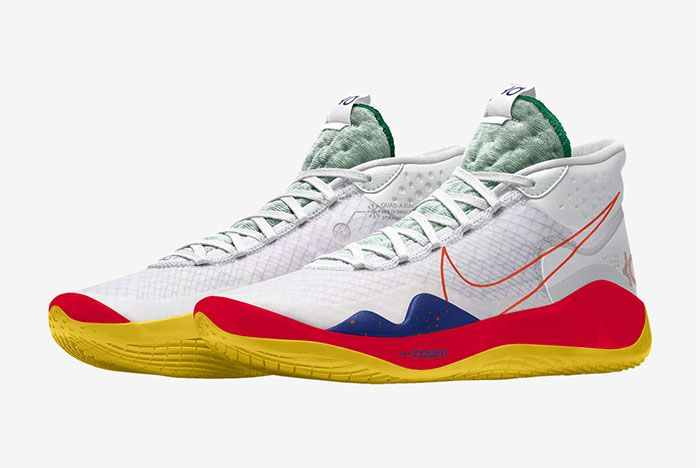 Nike Kd 12 Nike By You Red Left