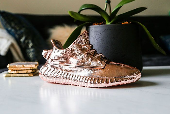 Ceeze Yeezy Sculptures Sillver Rose Gold Candle8
