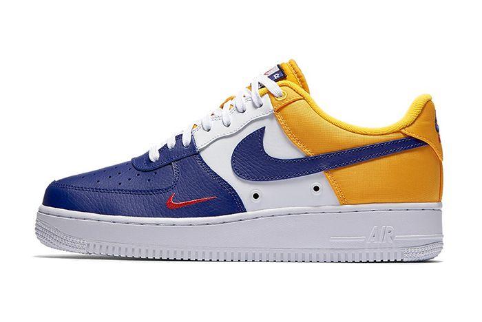 Nike Air Force 1 Mini Swoosh Deep Royal2