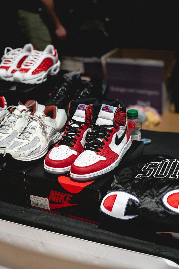 Sneakerness Zurich 2019 Event Recap 3 Spider Man Air Jordan 1