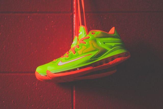 Nike Lebron 11 Low Gs Electric Green 3