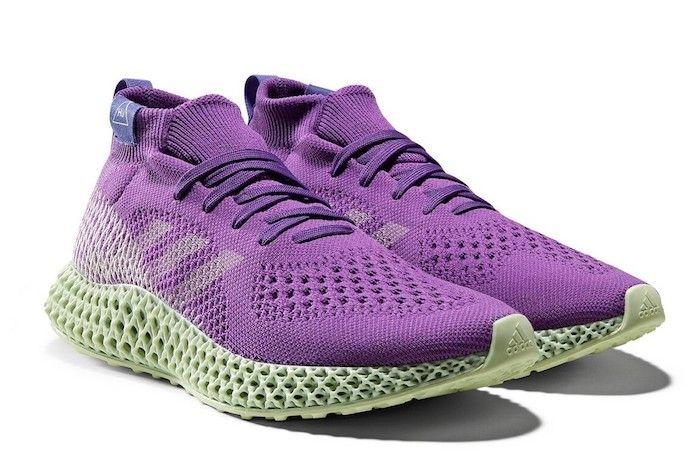 Adidas 4 D Runner Pharrell Williams Purple 2